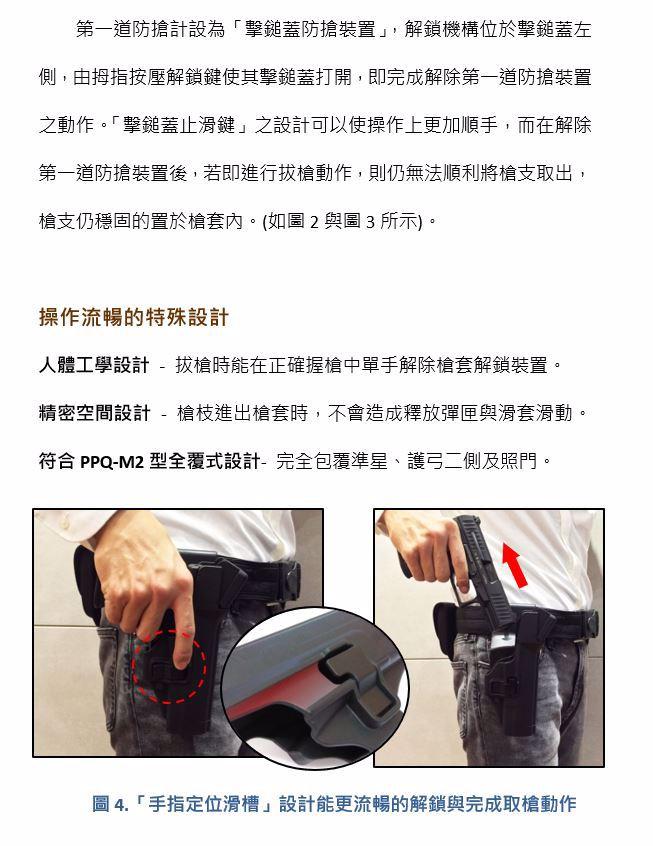 [攻衛] PPQ 防搶槍套 警用槍套裝備 PPQ (Right Hand) Gun Holster.